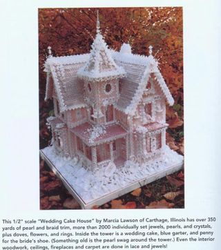 Wedding cake house